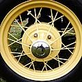 Antique Car Tire Rim by Karl Rose