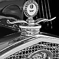 1931 Model A Ford Deluxe Roadster Hood Ornament 2 by Jill Reger