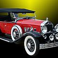 1931 Willys Knight Plaid Side by Jack Pumphrey
