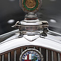 1932 Alfa-romeo Hood Ornament 2 by Jill Reger
