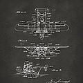 1932 Amphibian Aircraft Patent Gray by Nikki Marie Smith