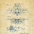 1932 Amphibian Aircraft Patent Vintage by Nikki Marie Smith