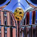 1932 Chrysler Ch Imperial Cabriolet Grille Emblem by Jill Reger
