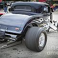 1932 Ford Highboy Back View Classic Car Automobile In Color  310 by M K Miller