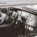 1932 Ford Highboy Dashboard Car Automobile In Color  3108.02 by M K Miller