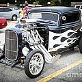 1932 Ford Highboy Front And Side Car Automobile In Color  3107.0 by M K Miller