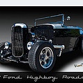 1932 Ford Highboy Roadster by Chas Sinklier