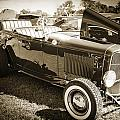 1932 Ford Roadster Automobile Classic Car In Sepia  3059.01 by M K Miller