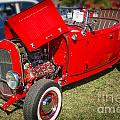 1932 Ford Roadster Classic Automobile Car In Color  3058.02 by M K Miller