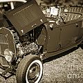 1932 Ford Roadster Classic Automobile Car In Sepia  3058.01 by M K Miller