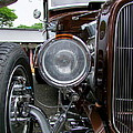 1932 Ford Roadster Head Lamp View by Mary Deal