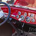 1932 Ford Roadster Interior Automobile Classic Car In Color  306 by M K Miller