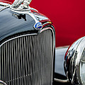 1932 Ford V8 Grille - Hood Ornament by Jill Reger