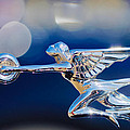 1932 Packard 12 Convertible Victoria Hood Ornament -0251c by Jill Reger