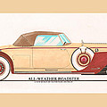 1932 Packard All Weather Roadster By Dietrich Concept by Jack Pumphrey