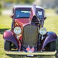 1932 Plymouth Front View In Color 3044.02 by M K Miller