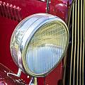 1932 Plymouth Headlight Or Head Light In Color Purple 3046.02 by M K Miller
