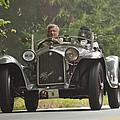 1933 Alfa Romeo 8c Corto Touring Spyder by Jill Reger
