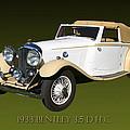 1933 Bentley 3  5  Liter Drop Head Coupe by Jack Pumphrey
