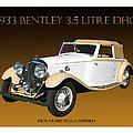 Bentley Derby D H C  by Jack Pumphrey