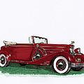 1933 Cadillac Convert Victoria by Jack Pumphrey