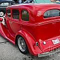 1933 Chevrolet Chevy Sedan Classic Car Side In Color 3174.02 by M K Miller