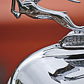 1933 Chrysler Cl Imperial Hood Ornament by Jill Reger