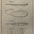 1933 Fish Lure Patent by Dan Sproul