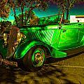1933 Ford Neon Green by Daniel Enwright