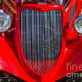 1933 Ford Vicky Automobile  Front End And Grill Color 3024.02 by M K Miller