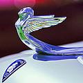 1933 Plymouth Hood Ornament -0121c by Jill Reger