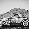 1933 Pontiac -0008bw by Jill Reger