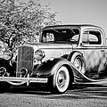 1933 Pontiac -0011bw by Jill Reger