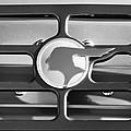 1933 Pontiac Emblem -0467bw by Jill Reger