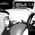1933 Studebaker Digital Art by A Gurmankin