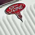1934 Ford Emblem by Jill Reger