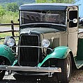 1934 Green Ford Truck