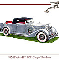 1934 Packard Twelve 1107 Coupe by Jack Pumphrey