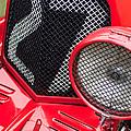 1935 Aston Martin Ulster Race Car Grille by Jill Reger