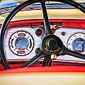1935 Auburn 851 Supercharged Boattail Speedster Steering Wheel by Jill Reger