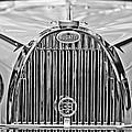 1935 Bugatti Type 57 Roadster Grille Emblem by Jill Reger