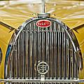 1935 Bugatti Type 57 Roadster Grille by Jill Reger