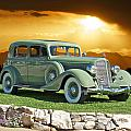 1935 Buick 61 Sedan by Dave Koontz