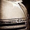 1935 Chevrolet Hood Ornament - Emblem by Jill Reger