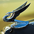 1935 Chevrolet Sedan Hood Ornament 2 by Jill Reger