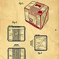 1935 Kodak Camera Casing Patent by Edward Fielding