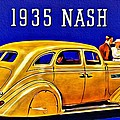 1935 Nash Lafayette by Florian Rodarte