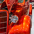 1935 Orange Ford-front View by Eti Reid