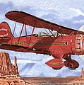 Monument Valley Bi-plane by Jack Pumphrey