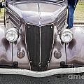 1936 Ford Roadsster Classic Car Or Automobile Front End In Color  3116.02 by M K Miller